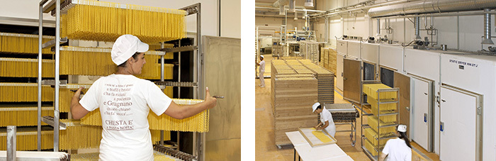 pasta-production